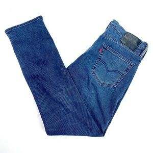 Levi's 511 Sz W32 L32 Straight Leg Stretch Jeans